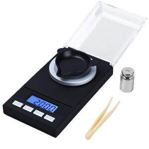 Hochpräzise LCD Digital Gramm Gold Schmuckwaage Home Küchenwaage 0,001g