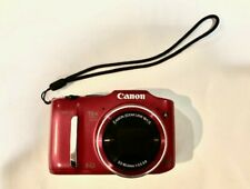 Canon PowerShot SX160 IS 16.0MP Digital Camera - Red