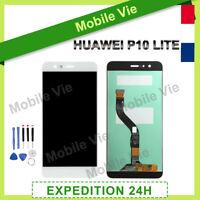 VITRE TACTILE + ECRAN LCD ORIGINAL PRET-A-MONTER POUR HUAWEI P10 LITE 2016 BLANC