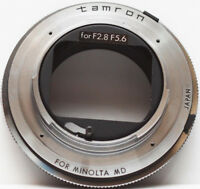 Original Tamron Adaptall 2 Lens Mount to Minolta MD Camera Mount Adapter