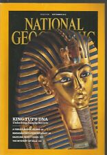 National Geographic September 2010 King Tut's DNA/Fraser Island/Madagascar/Eels