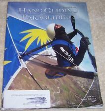 Hang Gliding & Paragliding Magazine July 2011