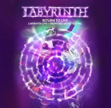 LABYRINTH - RETURN TO LIVE (DELUXE EDITION)   CD+DVD NEUF
