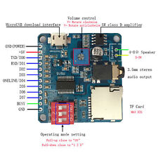 Voice Playback Module Board MP3 Trigger Player SD/TF Card For Arduino