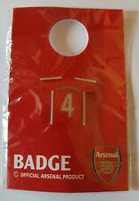 acc570) official ARSENAL football club shirt metal pin badge BNIP FABREGAS 4