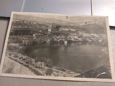 Real Photo Construction Of  GENISSIAT DAM France Postcard Un-posted