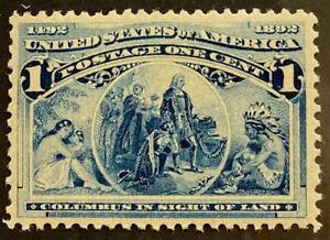 U.S.  230  Beautiful  Mint  NEVER   Hinged  Value  XF85  a 970