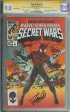 SECRET WARS #1 CGC 9.8 WHITE PAGES