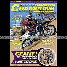 MOTO CRAMPONS N°202 YAMAHA 426 WRF YAMAHA 125 YZ 250 426 YZF HONDA CRF 450 2001