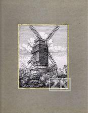 NICOLAS WILCKE Moulin Galette DESSIN Film Albatros Montmartre Paris 1940 #1