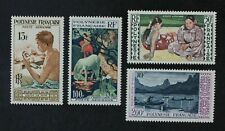 CKStamps: France Stamps Collection French Polynesia Scott#C24-C27 Mint H OG