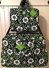 Vera Bradley LUCKY YOU WEEKENDER & HANGING ORGANIZER Travel Bag Duffel Large NWT