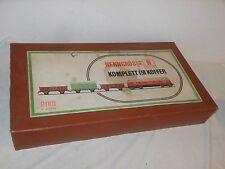 VINTAGE TRAIN - PIKO MODELLBAHN EN VALISE - PISTE N - 80 x 44 x 13 cm - DEWAG