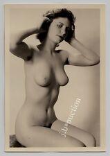#549 RÖSSLER AKTFOTO / NUDE WOMAN STUDY * Vintage 1950s Studio Photo - no PC !