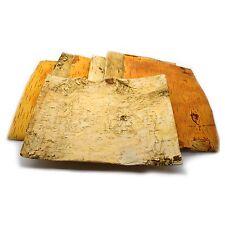8 x Birch Tree Bark Sheets Rustic Bridal Wedding Decoration Shapes Crafts