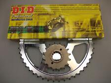 DID Sello Forma X Set de Cadena para Kreidler DD 125 Enduro Supermoto 08
