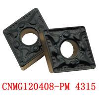 10PCS CNMG120408-PM 4315 CNMG 432-PM CNC tool Cutter Carbide inserts