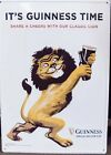 Guinness Beer Lion Embossed Tin Sign NEW Mancave. Tin Tacker.