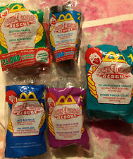2000 McDonald's Happy Meal Power Ranger Rescue Collectible Toys Lot Of 5