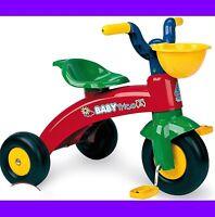 TRICICLO CON PEDALES INFANTIL COCHE MOTO BICICLETA BICI COCHECITO INFANTIL