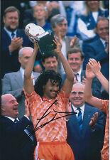 Ruud GULLIT Signed Autograph 12x8 Photo AFTAL COA Dutch Football Legend