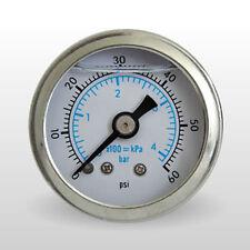 Marshall Öldruckmesser Öldruckanzeiger Scale Face 60PSI für Harley - Davidson