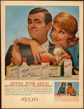 1960's Vintage ad for Avon for Men/60's Fashion (012513)