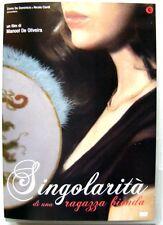 Dvd Singolarità di una ragazza bionda di Manoel de Oliveira 2009 Usato