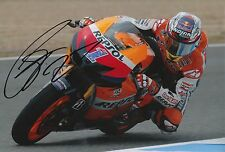 Casey Stoner mano firmado Repsol Honda 12x8 Foto MotoGP 1.
