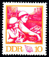 1761 postfrisch DDR Briefmarke Stamp East Germany GDR Year Jahrgang 1972