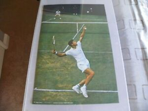 Sports Illustrated Poster Prints#763 Photo by Herb Scharfman CR 1971 Tennis24x36