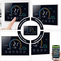 Wifi Digital LCD Thermostat Raumthermostat Fußbodenheizung schwarz 95-240V