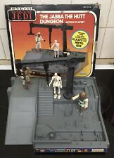 Vintage Star Wars Jabba The Hutt Action Playset Including Figures.