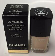 CHANEL LE VERNIS Nail Colour 548 Blanc White 13ml./0.4oz.