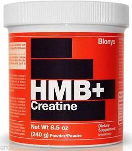 BLONYX HMB+ CREATINE RECOVERY STRENGTH MUSCLE MASS CROSSFIT