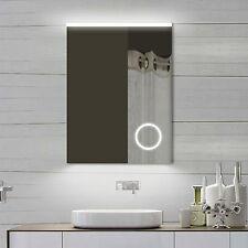 NEU Design Badezimmerspiegel mit Schminkspiegel Led Warm/Kaltweiß SPM62X80DP