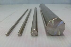 ROUND BAR/ROD - 316 STAINLESS STEEL - Many diameters and Lengths - Free cutting