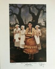 GEORGE RODRIGUE SAGA OF THE CAJUNS MACQUECHOU - SIGNED & NUMBERED W/CERTIFICATE