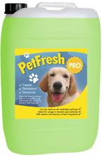 25 Eucalyptus PET cattery Kennel DISINFETTANTE Deodoriser CLEANER Fresco Odore DOG