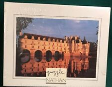 NEW SEALED NATHAN Jeux 500 piece Chenonceau FRANCE Souvenir Collection