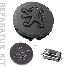 Neue Gummi-Taste von Funkschlüssel Peugeot 106 206 306 406 [REPARATUR KIT]