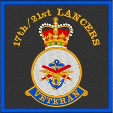17th/21st Lancers Veteran Patch