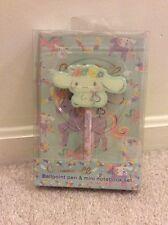 Cinnamoroll Ballpoint Pen + A5 Notebook Gift Box Set. Sanrio. Valentines Gift