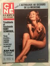 Ciné Revue n 37 1976 Romy SCHNEIDER Sophia LOREN Jean PIAT DRACULA