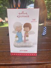 2015 Hallmark Keepsake Ornament Let It Shine Mary's Angels Light Sound Works