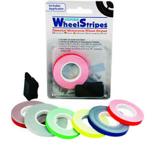 OXFORD WHEEL STRIPES REFLECTIVE MOTORCYCLE FLUORESCENT TAPE + 3M APPLICATOR BLUE