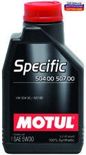 OLIO Motore MOTUL Specific 504 00 507 00 5W30 per Volkswagen, Audi, Skoda, Seat