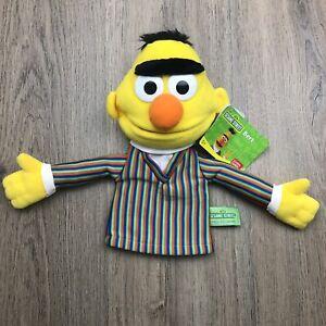 Gund Sesame Street Bert Hand Puppet 2010 NWT