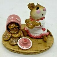 """Wee Forest Folk 1995 M-209 """"Caught in the Act!"""" (Valentine's) Signed """"WP"""""""