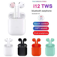NEW Wireless Bluetooth Earbuds with Charging Case For iPhone Android Pods Colors